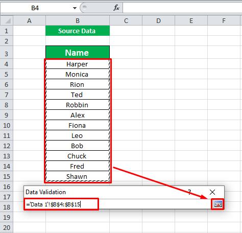 selecting data
