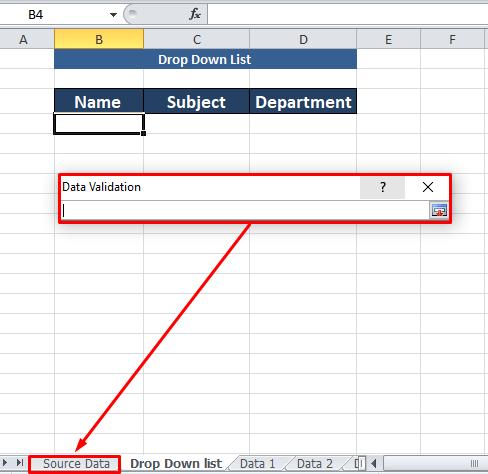 differnet worksheet