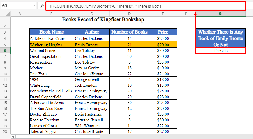 Checking If a Value is in a Range of Cells