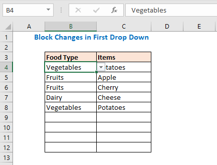 Excel Populate a List Based on Cell Value