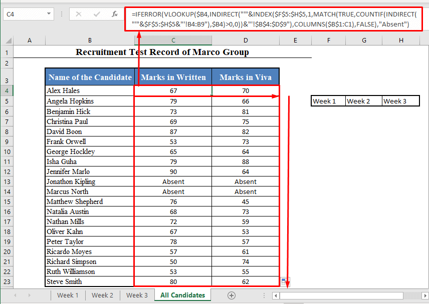 Col_index_num made to dynamic in VLOOKUP Function