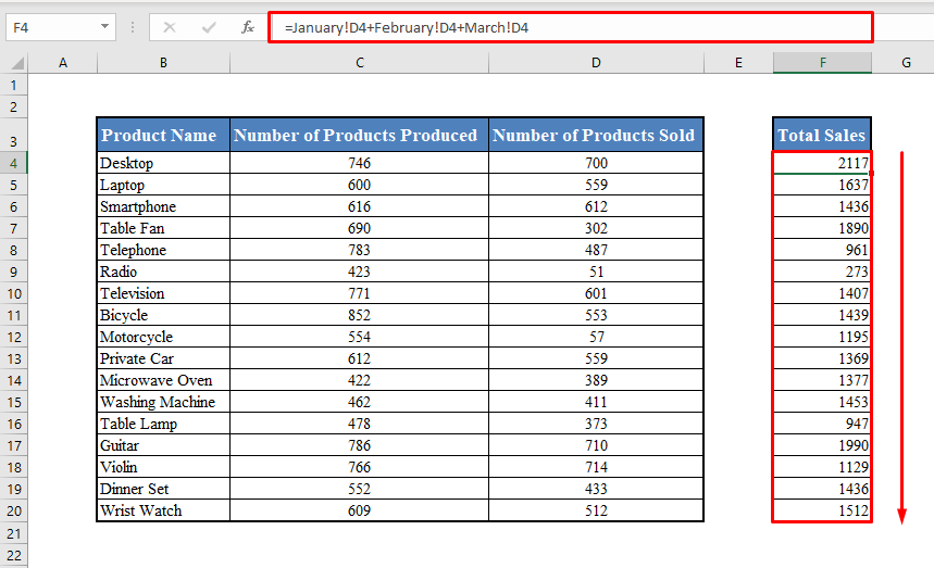 Formulas with Cell References from Multiple Worksheets