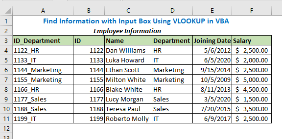 This will print a combined string with ID and Department in the first column