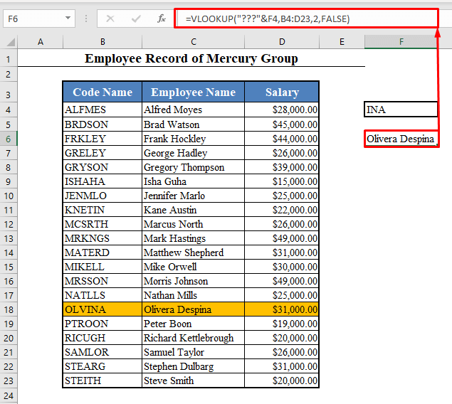 Question Mark to VLOOKUP Partial Text from a Single Cell