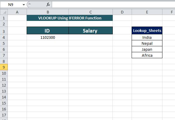 new worksheet