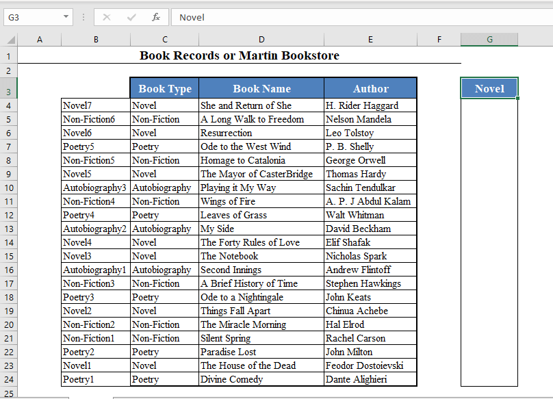 A New Column with the Lookup Value as Column Header