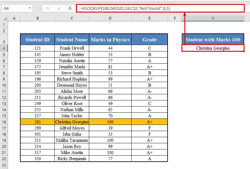 XLOOKUP When Multiple Values Match
