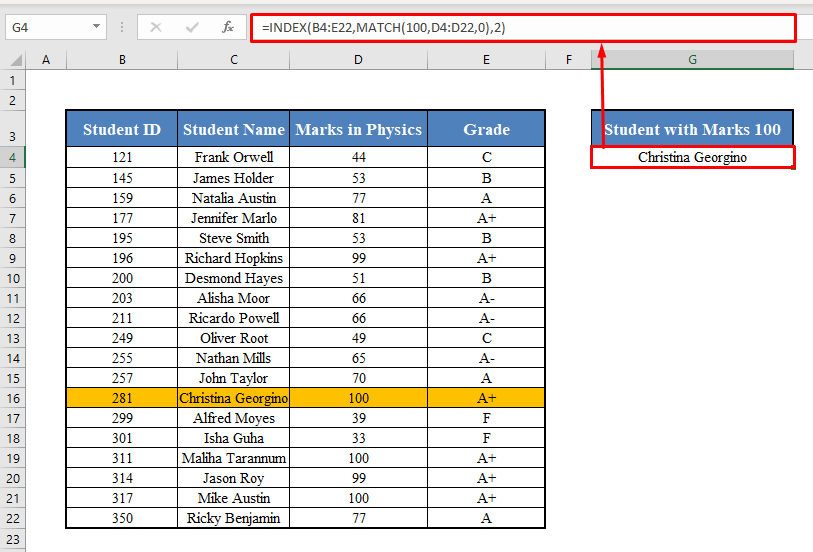 INDEX-MATCH When Multiple Values Match
