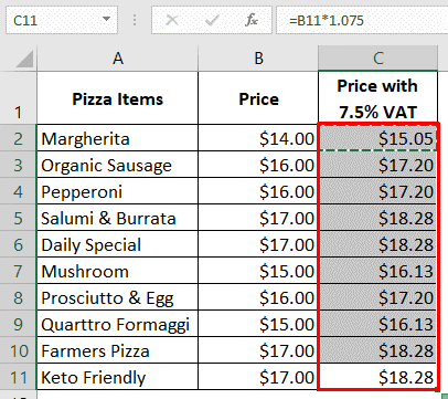 copying and pasting formula to autofill numbers in excel