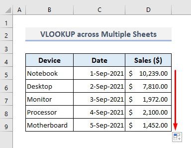 alternative to the index match across multiple columns in excel vlookup
