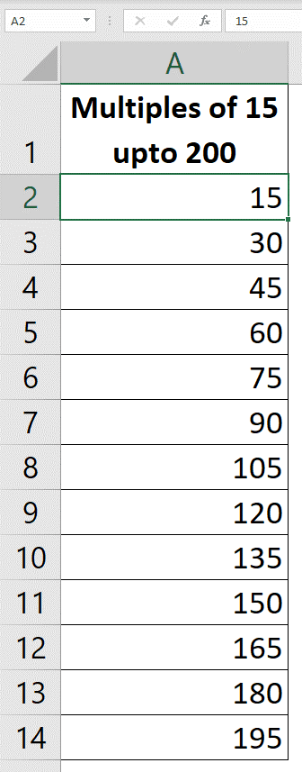 using fill series to autofill numbers in excel without dragging