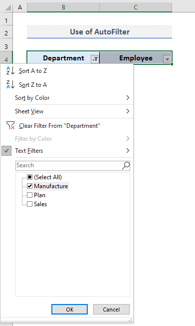 VLOOKUP and Draw Out All Matches with AutoFilter