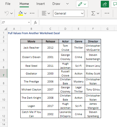Pull values from Details sheet using XLOOKUP