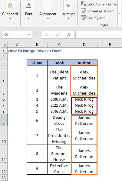Rows to merge - How To Merge Rows In Excel