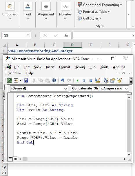 Change cell references repeatedly - VBA Concatenate String And Integer