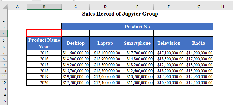 Data Set to Number Columns in Excel Automatically