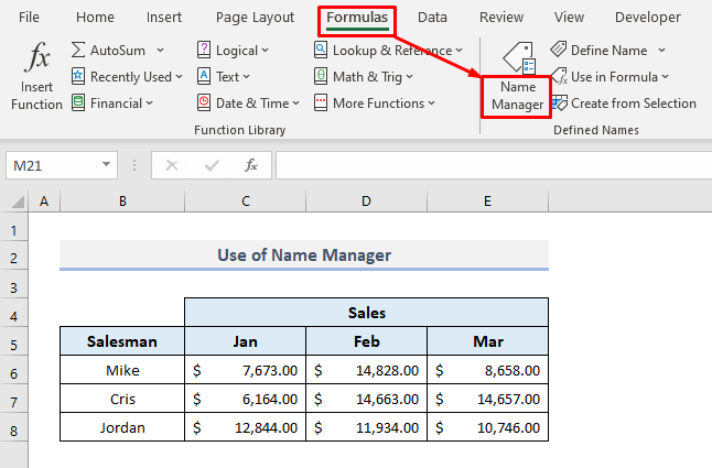Use Name Manager to Find Named Range with External Links